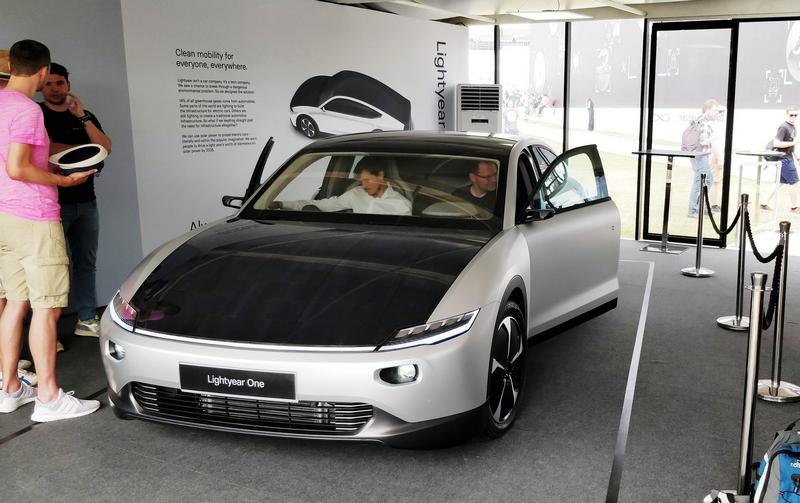 Lightyear One Car Prototype at fosgoodwood
