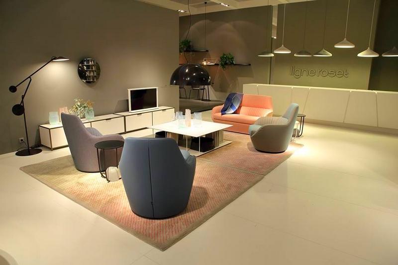 Ligne Roset at 2017 IMM Cologne furniture fair