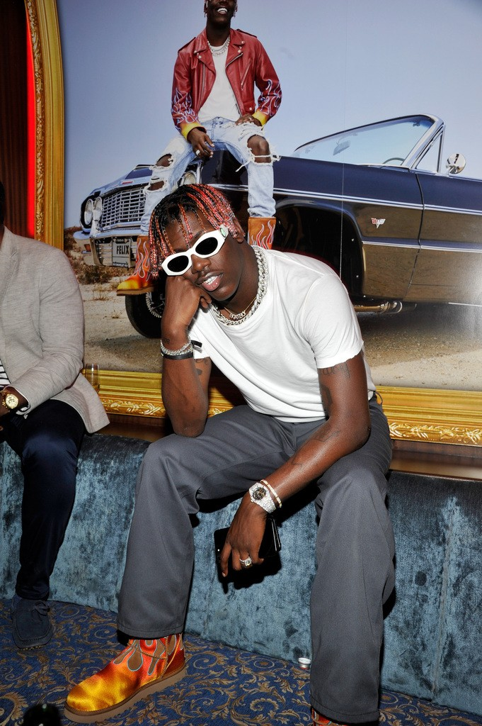 Lil Yachty at the UGG x Jeremy Scott Collaboration Launch Event