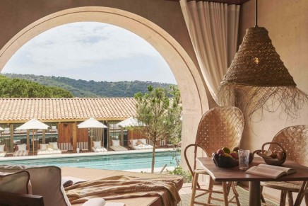 Philippe Starck's Lily of the Valley hotel is making a splash in Saint-Tropez