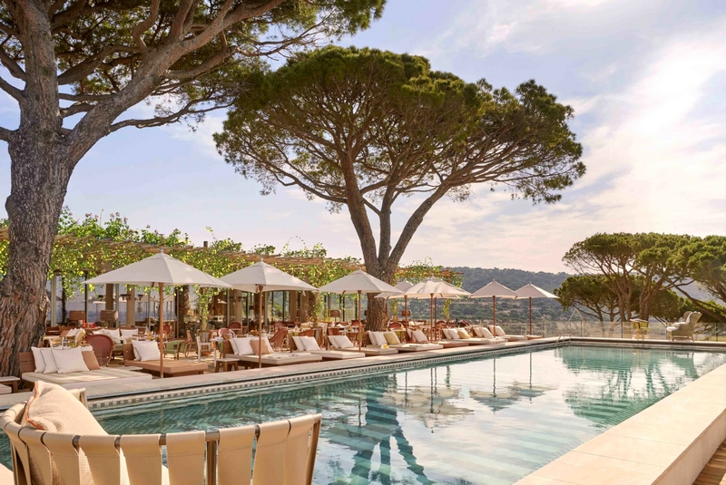 Lily of the Valley hotel is making a splash in Saint-Tropez