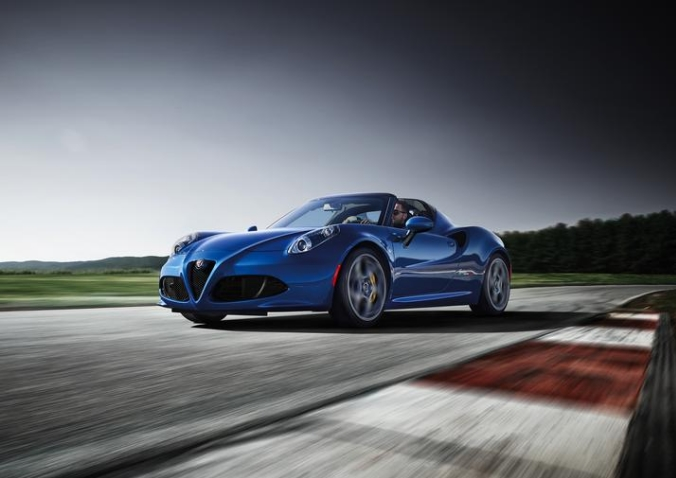 Limited-Edition 2020 Alfa Romeo 4C Spider Italia unveiled for North America at Chicago Auto Show-2019