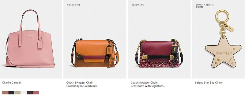 Limited Edition Coach x Selena Gomez collection
