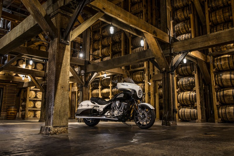 Limited Edition Jack Daniel's Chieftain motorcycle 2017 edition-