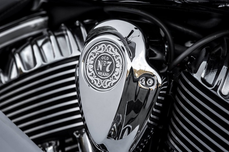 Limited Edition Jack Daniel's Chieftain motorcycle 2017 edition