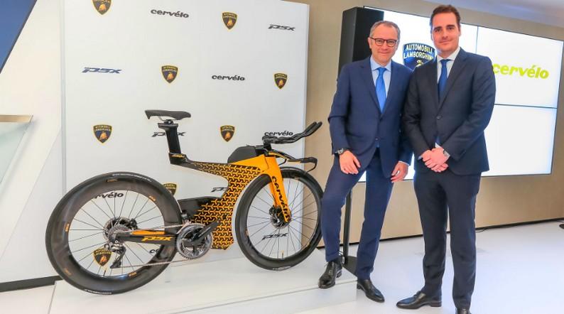 Limited-Edition PX5, the triathlon bike by Lamborghini x Cervélo-Geneva debut