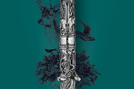A lifelike forest in Caran d'Ache Limited Edition Spirit of Wildlife