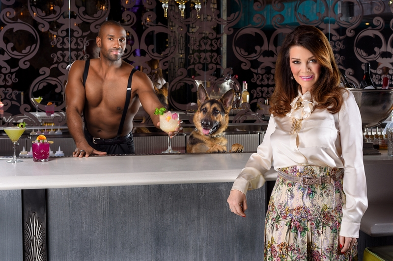 Lisa Vanderpump - Vanderpump Cocktail Garden Officially Debuts at Caesars Palace