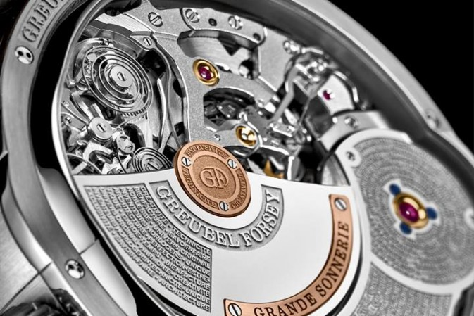 Listen to the sound of the Grande-Sonnerie…Greubel Forsey's most complex creation to date