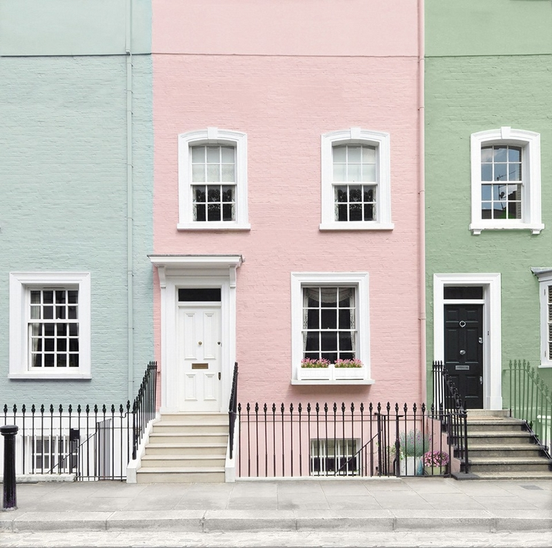 Little Greene's Exterior Masonry Paint is available in almost all colours