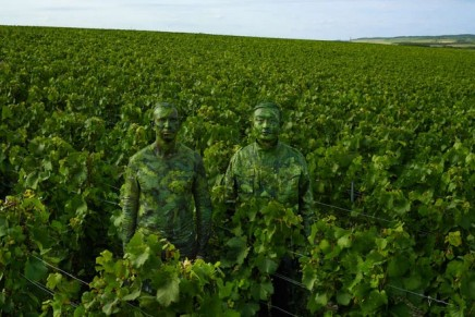 The art of camouflage: Liu Bolin's photograph-performances for Ruinart reveal the invisible