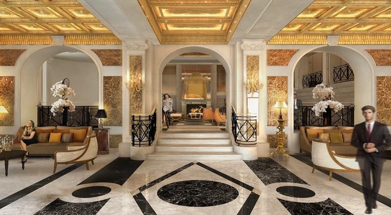Lobby - Hotel Eden Rome 2017