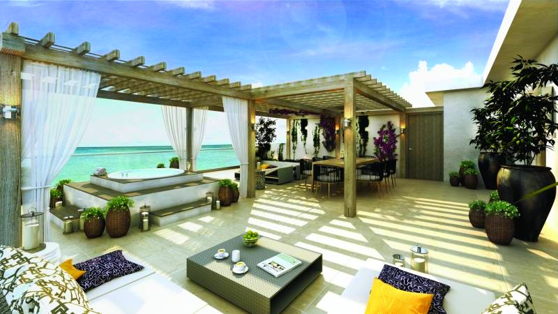 Lobby-Le Blanc Spa Resort, Mexico's Ultimate Luxury Resort, Debuts its Second Property in Los Cabos-