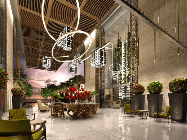 Lobby-Le Blanc Spa Resort, Mexico's Ultimate Luxury Resort, Debuts its Second Property in Los Cabos