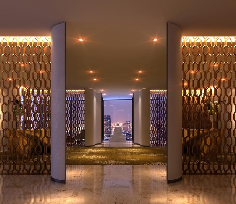 Lobby at Park Hyatt Bangkok