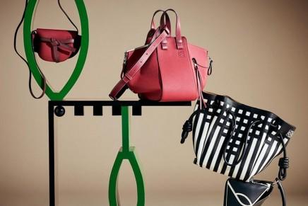 Loewe Gate Bag Pop-Up with a Mackintosh twist