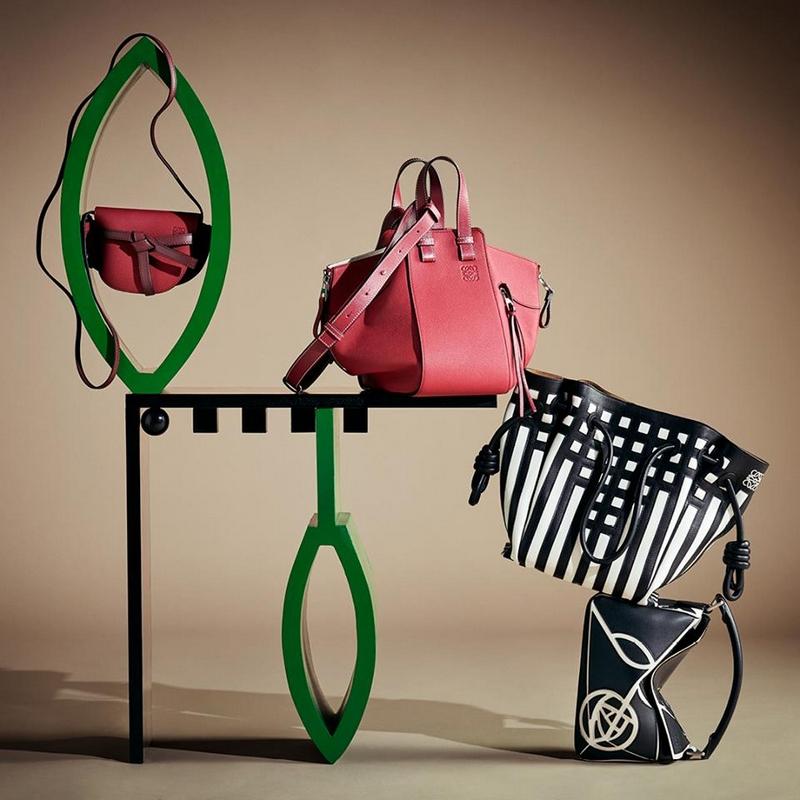 Loewe Gate Bag collection - the Mackintosh twist-