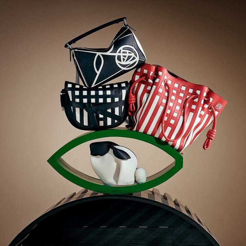 Loewe Gate Bag collection - the Mackintosh twist