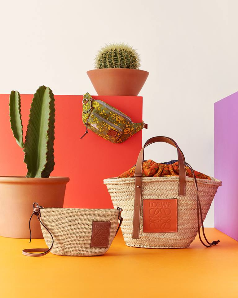 Loewe Paula's Ibiza Bags and Accessories 2019-tell the story of Balearic culture-