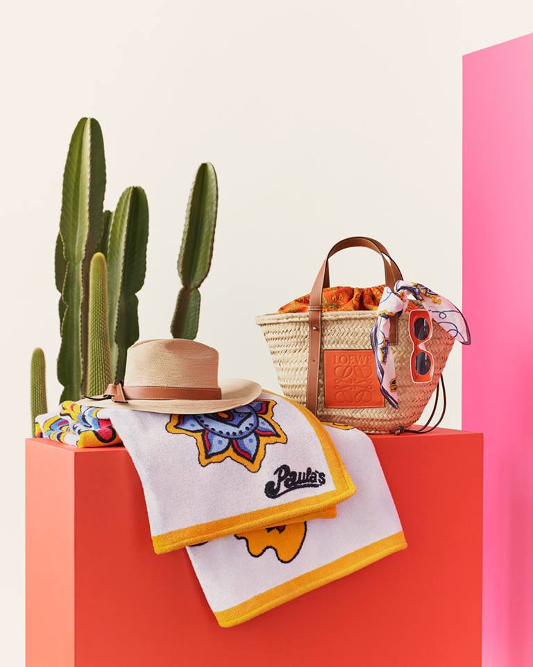 Loewe Paula's Ibiza Bags and Accessories 2019-tell the story of Balearic culture