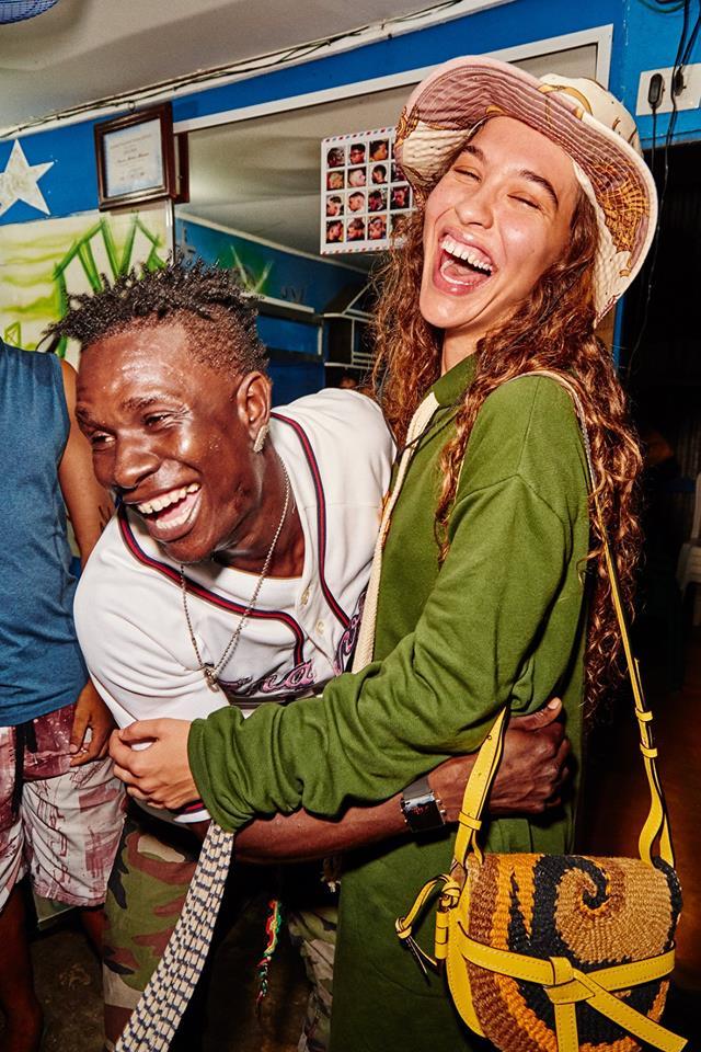 Loewe Paula's Ibiza Capsule - photographer Gray Sorrenti-