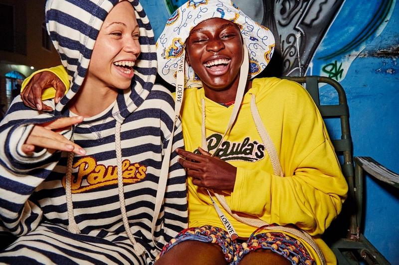 Loewe Paula's Ibiza Capsule - photographer Gray Sorrenti