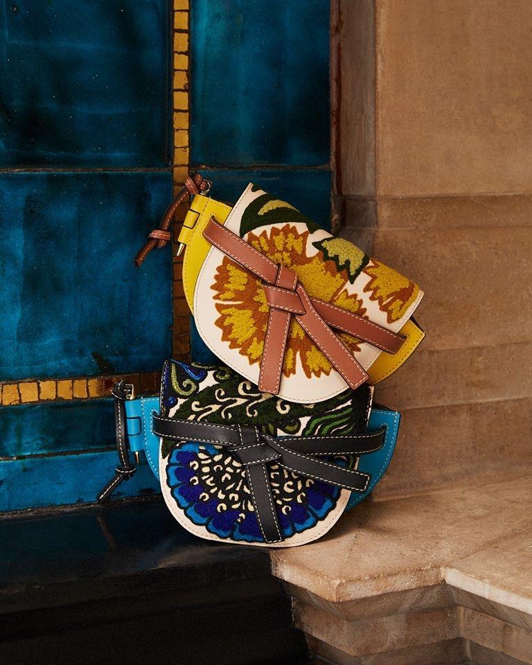 Loewe - chrysanthemum was a recurring motif in the work of ceramicist William De Morgan