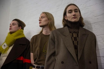 London fashion week men's makes a grab for the zeitgeist