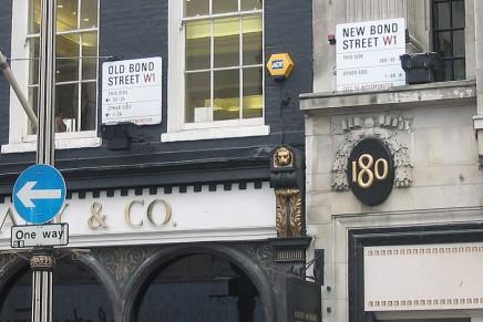 London's Bond Street has world's third-highest business rents