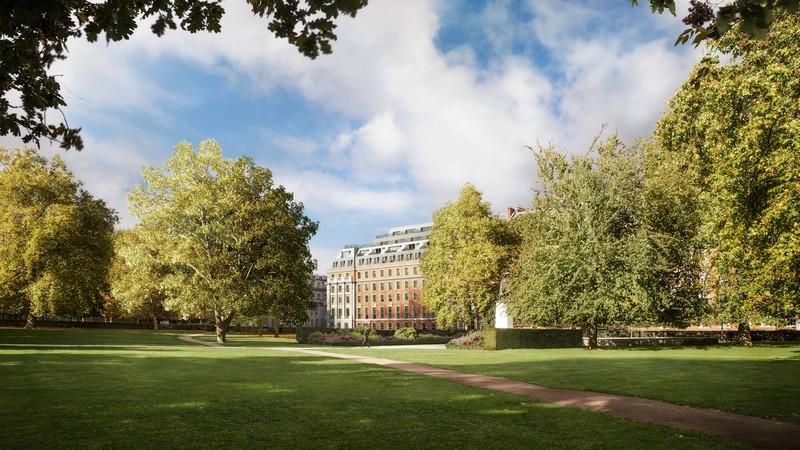 DBOX for Finchatton - 20 Grosvenor Square - Exterior - Square Ga