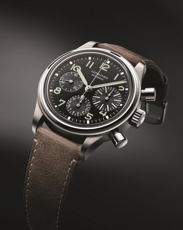 "Longines Avigation BigEye watch won the Price in the ""Revival"" category at 2017 Grand Prix de l'Horlogerie de Genève Awards"