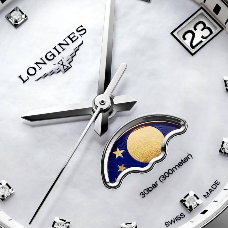 Longines Conquest - The new moonphase ladies' watch models for 2017-2018