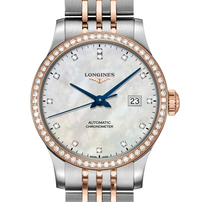 Longines Record collection goes for gold