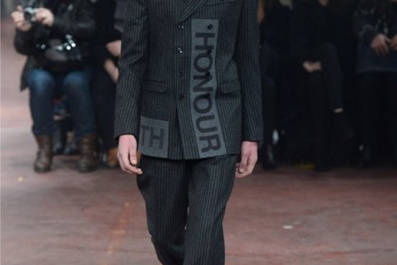 Alexander McQueen's menswear show is a thing of savage beauty