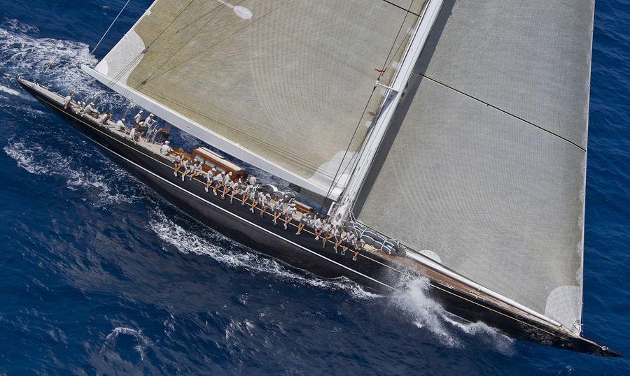 Loro Piana Caribbean Superyacht Regatta & Rendezvous 2012Race Day 1: HANUMAN
