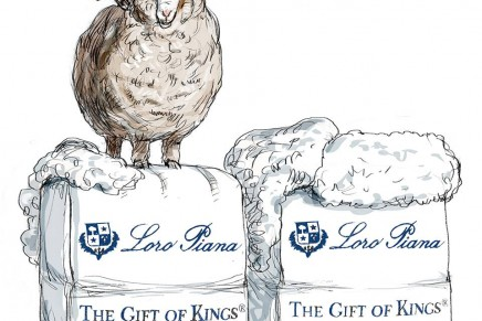For connoisseurs: Loro Piana The Gift of Kings