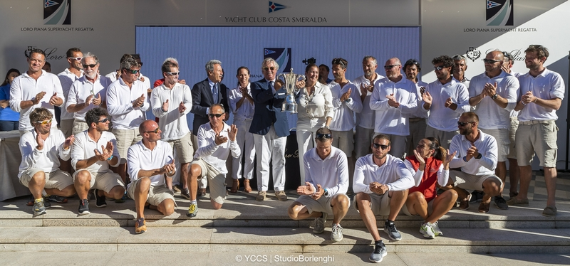 Loro Piana Superyacht Regatta - Porto Cervo 2018-01