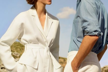 Exceptionally elegant André: Loro Piana's Secret's of Summer