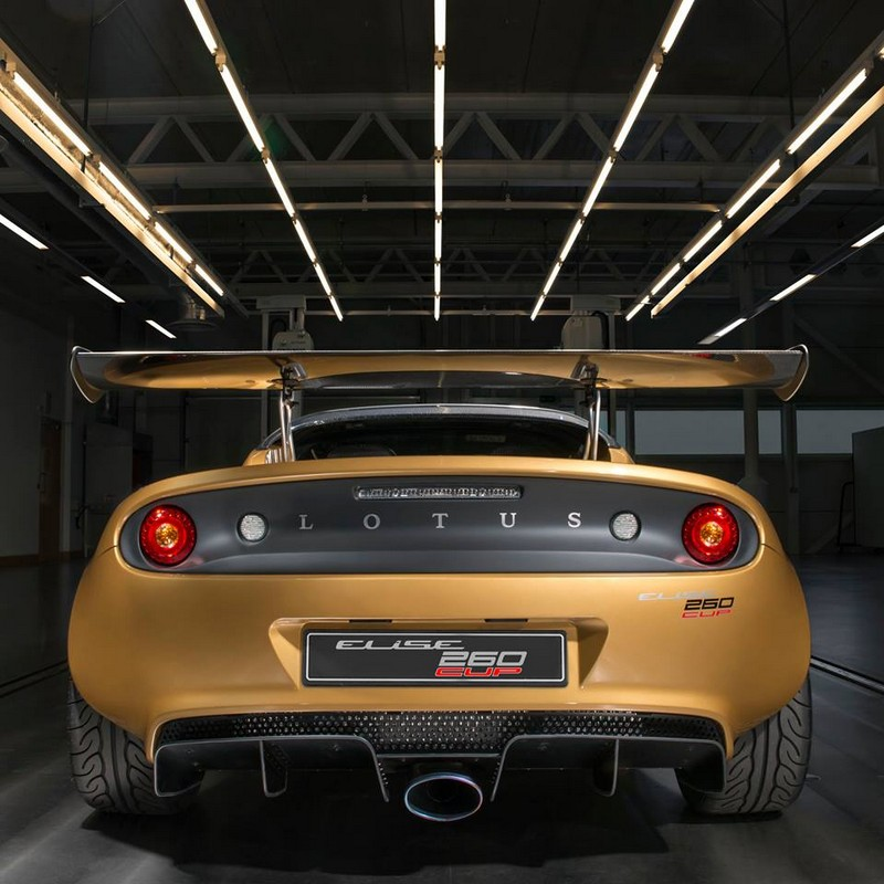 Lotus Elise Cup 260 is a New Ultra-rare Edition With Just 30 Examples Worldwide