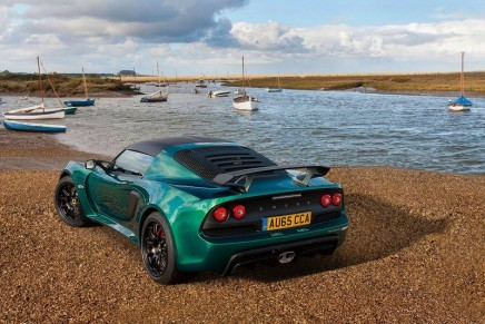Lotus Exige Sport 350 – more powerful and much lighter than its previous iteration