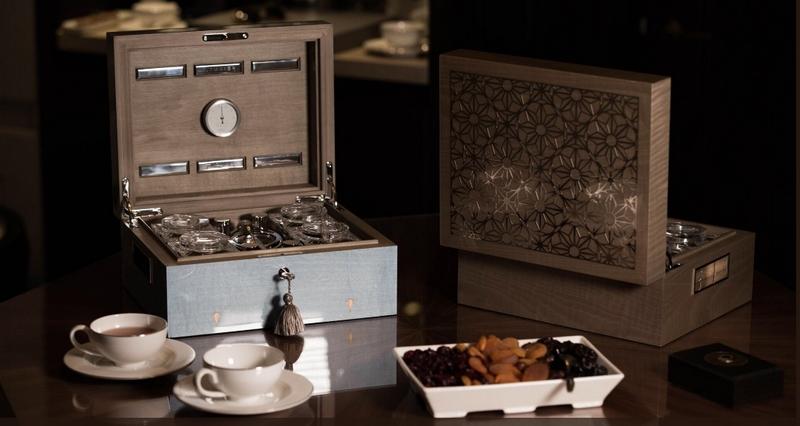 Lotusier Tea Humidors range