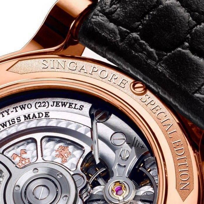 Louis Moinet Singapore Edition Watch 2017-