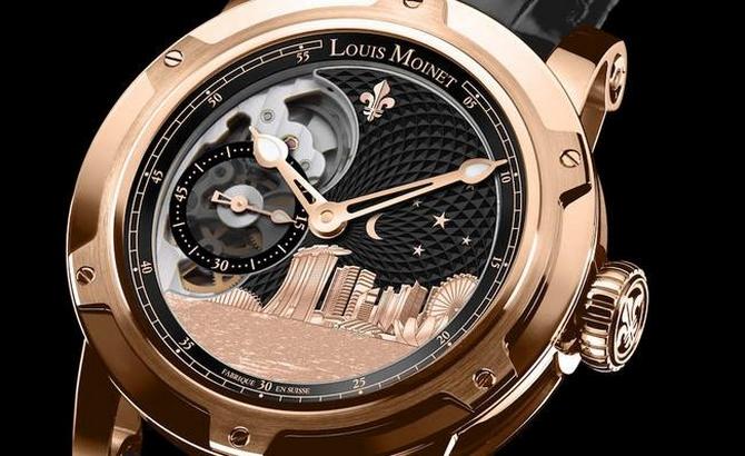 Louis Moinet Singapore Edition Watch2017