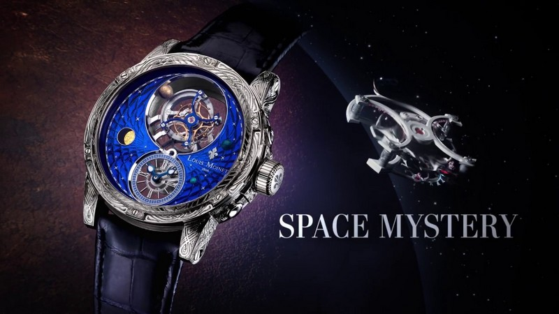 Louis Moinet Space Mystery watch