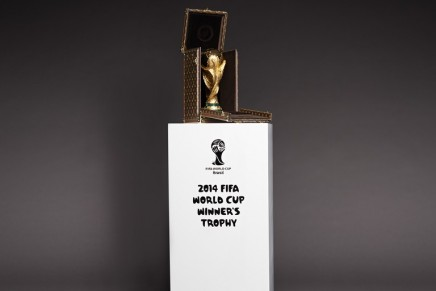 2nd Louis Vuitton travel case for the FIFA World Cup Trophy