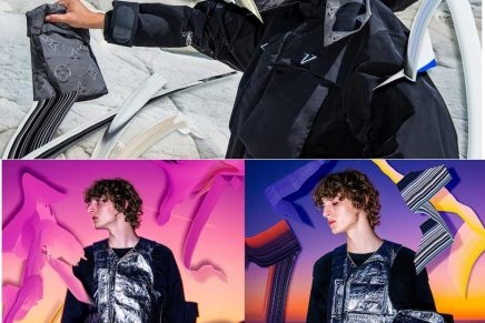 Water-repellent Louis Vuitton 2054: Virgil Abloh's new codes of urban dressing and activewear