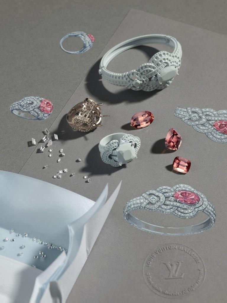 Louis Vuitton Conquette collection