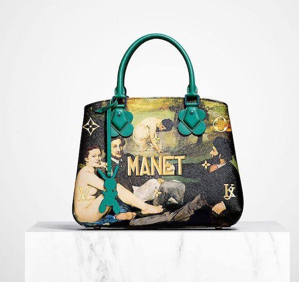 Louis Vuitton Manet Master Collection by Jeff Koons-