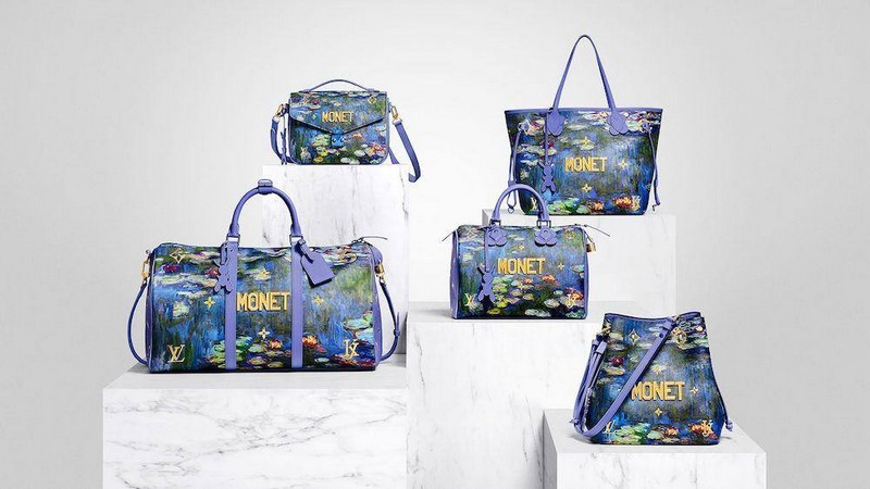 Louis Vuitton Manet Master Collection by Jeff Koons
