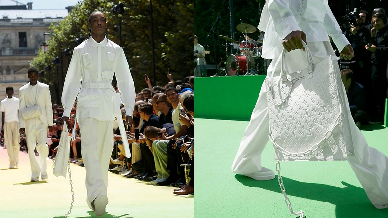 Louis Vuitton Men's Spring-Summer 2019 Collection by Virgil Abloh-details